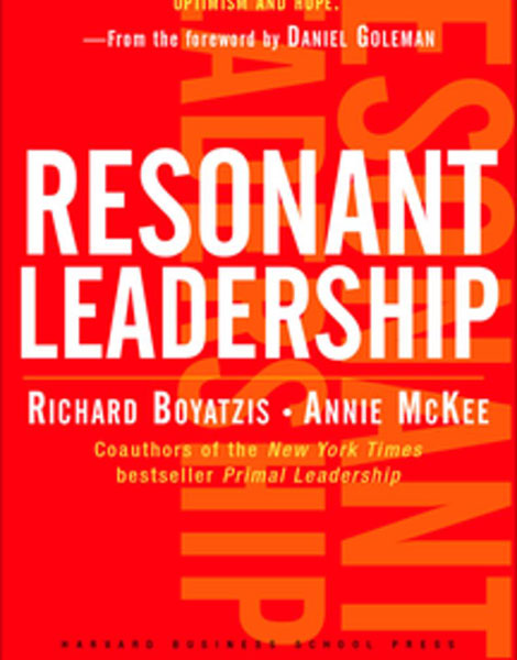 Resonant Leadership by Richard Boyatzis and Annie McKee book cover