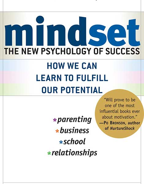 Mindset by Dweck book cover