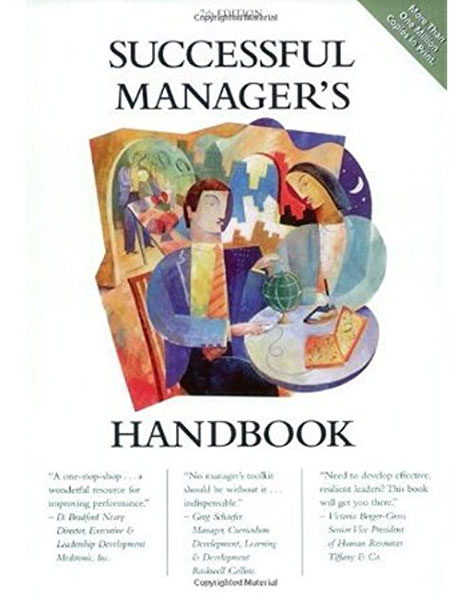 Successful Manager's Handbook book cover