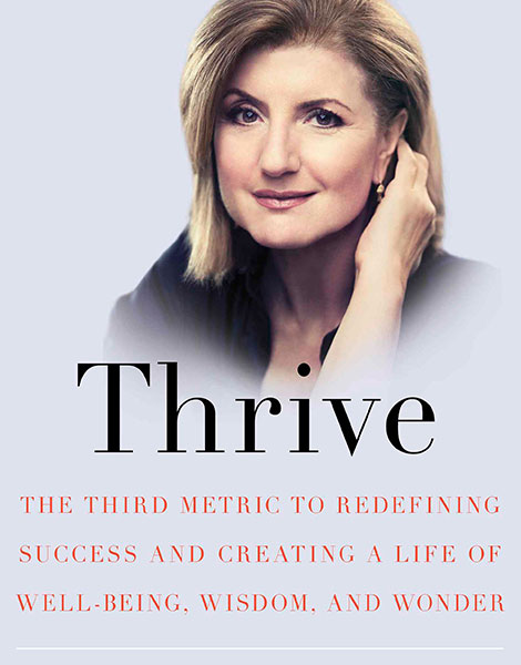 Thrive by Arianna Huffington book cover